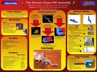 The Electric Flame-Off Assembly