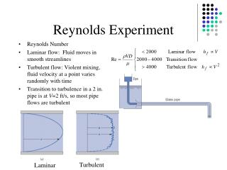 Reynolds Experiment