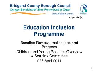 Education Inclusion  Programme