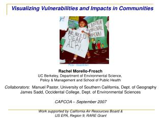 Visualizing Vulnerabilities and Impacts in Communities