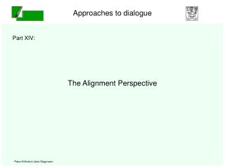 The Alignment Perspective