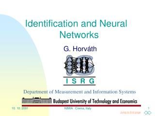 Identification and Neural Networks