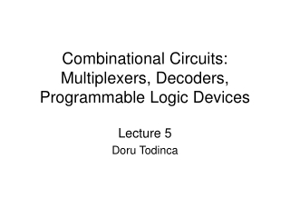 Fundamental of Logic Design