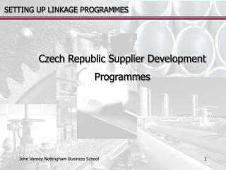 Czech Republic Supplier Development  Programmes
