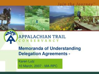 Memoranda of Understanding Delegation Agreements -