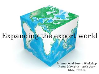 Expanding the export world