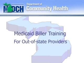 Medicaid Biller Training