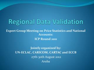 Regional Data  Validation