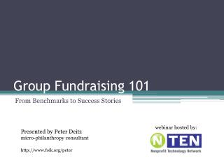 Group Fundraising 101