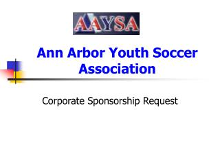 Ann Arbor Youth Soccer Association