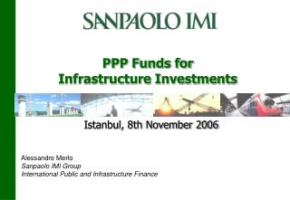 PPP Funds for  Infrastructure Investments