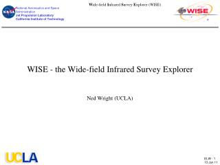 WISE - the Wide-field Infrared Survey Explorer