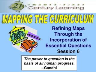 MAPPING THE CURRICULUM