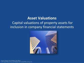 Valuations for financial statements