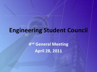 Engineering Student Council