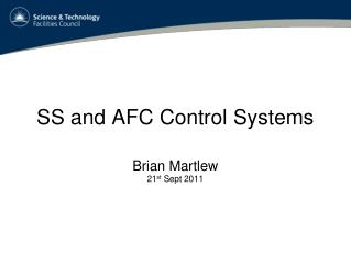SS and AFC Control Systems