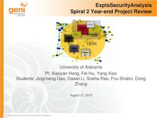 ExptsSecurityAnalysis Spiral 2 Year-end Project Review