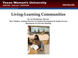 Living-Learning Communities