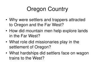Oregon Country