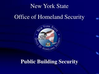 New York State  Office of Homeland Security
