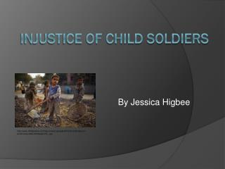 Injustice of Child Soldiers