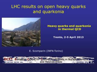 LHC results on open heavy quarks  and  quarkonia