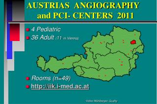 AUSTRIAS  ANGIOGRAPHY           and PCI- CENTERS  2011