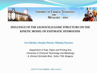 INFLUENCE OF THE LIGNOCELLULOSIC STRUCTURE ON THE KINETIC MODEL OF ENZYMATIC HYDROLYSIS