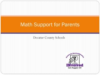 Math Support for Parents