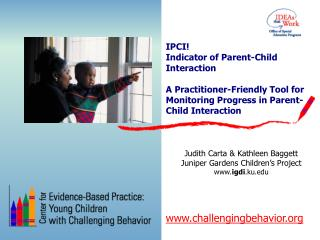 IPCI   Indicator of Parent-Child Interaction  A Practitioner-Friendly Tool for Monitoring Progress in Parent-Child Inter