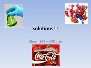 Solutions!!!