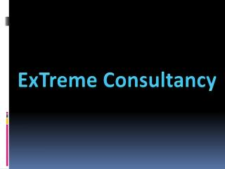 ExTreme Consultancy