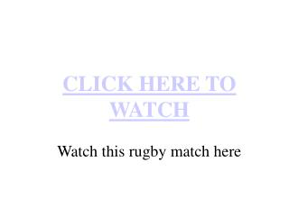 South Africa vs Ireland Live Streaming International Ruby ma