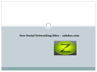 First Social Networking Platform with semantic search comple