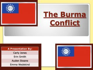 The Burma  Conflict