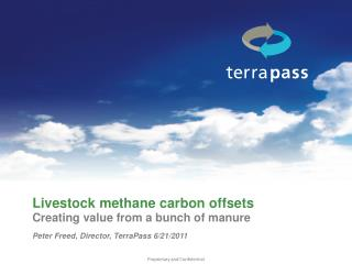 Livestock methane carbon offsets