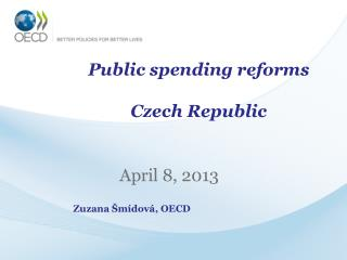 Public spending reforms Czech Republic