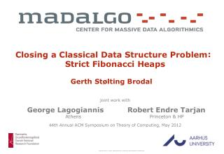 Closing a Classical Data Structure Problem Gerth Stølting Brodal