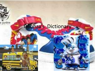 Deonza's   Dictionary