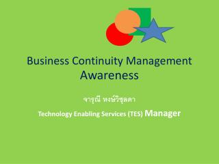 Business Continuity Management  Awareness
