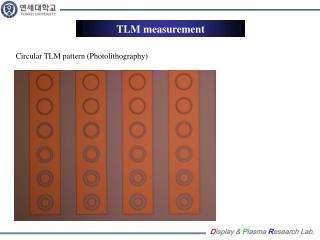 TLM measurement