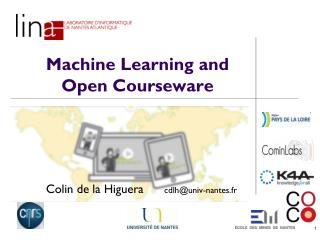 Machine Learning and Open Courseware