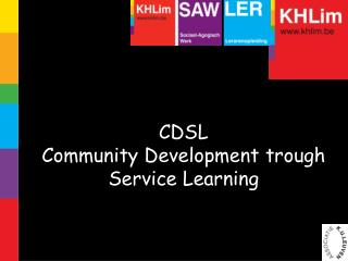 CDSL Community Development trough Service Learning