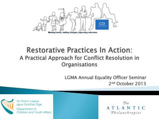 Restorative Practices In Action: A Practical Approach for Conflict Resolution in Organisations