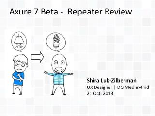 Axure 7 Beta -  Repeater Review