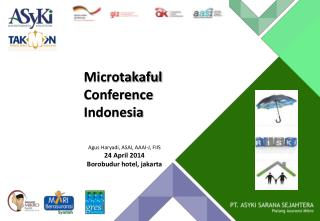 Microtakaful  Conference Indonesia