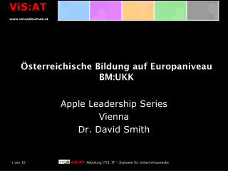 Österreichische Bildung auf Europaniveau BM:UKK