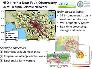 INFO : Irpinia Near-Fault Observatory  ISNet : Irpinia Seismic Network