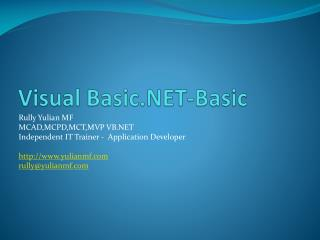 Visual Basic.NET-Basic