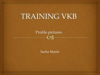TRAINING VKB Profile pictures